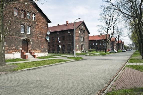 """Die Siedlung """"Borsigwerk"""" in Zabrze, Polen© Bernard Langerock"""