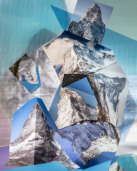 Anastasia Samoylova: Six Real Matterhorns, Landscape Sublime series, 2019.Archival Pigment Print, mounted, framed, 102 x 82 cm, Edition of 5 + 2 AP