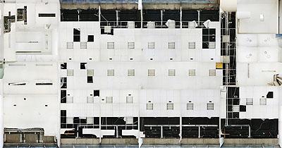 Andreas Gefeller Untitled (Office Floor 2) Düsseldorf, 2007 Lightjetprint/ Diasec 148 x 282 cm Edition of 8, Courtesy Thomas Rehbein Galerie