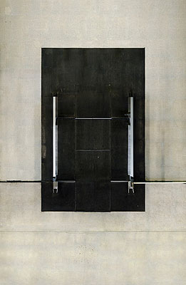 Andreas Gefeller Untitled (Entrance) Paris, 2006 Lightjetprint/ Diasec 160 x 105 cm Edition of 8, Courtesy Thomas Rehbein Galerie