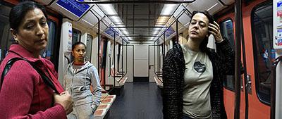 Linea 1, Madrid, 2007, 37 x 90 cm © Pablo Zuleta Zahr