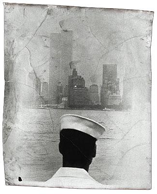 Staten Island Ferry1990Silverprint, mixed media127 x 95 cm