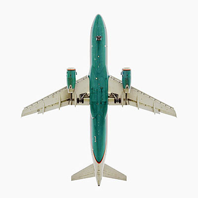 America West Airbus A320Ultrachrome Pigmented Inkjet127 x 127 cm (50 x 50 in)Edition of 3