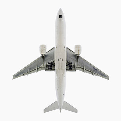 Air France Boeing 777-200Ultrachrome Pigmented Inkjet127 x 127 cm (50 x 50 in)Edition of 3