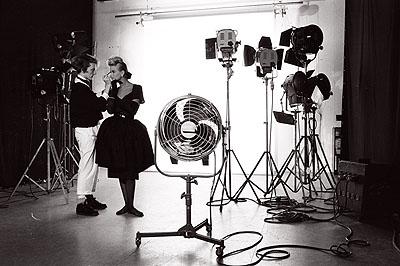 At Lindberghs Studio 1983© Volker Hinz