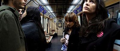 Madrid subway line 2, 2007, 42 x 94 cm © Pablo Zuleta Zahr