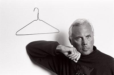 Giorgio Armani 1989© Volker Hinz