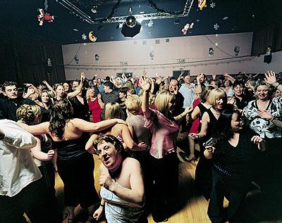 Mark Neville Port Glasgow Town Hall Xmas Party ( Betty), 2005© Mark Neville