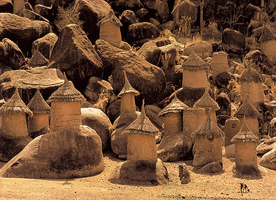 Leni Riefenstahl, Nuba-Dorf, Sudan, 1962-1969