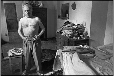 Henri Cartier Bresson, Pablo Picasso, Paris 1944 © Henri Cartier-Bresson / Magnum Photos