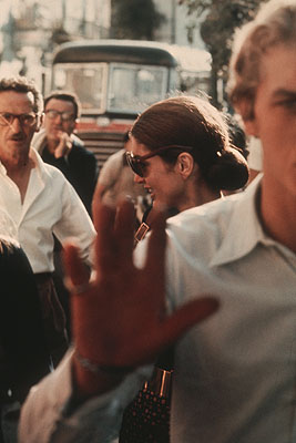 Ron Galella, Jackie Onassis, Capri 1970