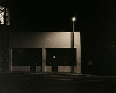 building, sunset strip, los angeles, 2005, platinum palladium print16 x 20 inches, edition of 1021 x 26 inches, edition of 5