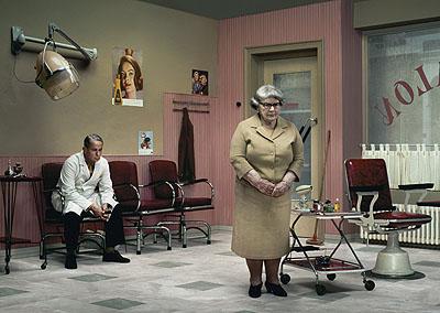 Erwin Olaf, Rain - The Hairdresser's, 2004, lambda print. Courtesy Flatland Gallery.