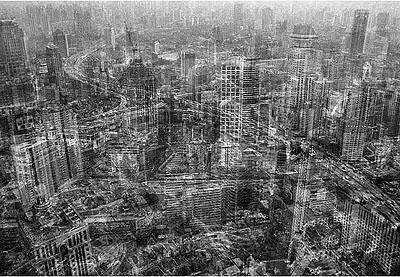 netropolis | shanghai, 180 x 120 cm, edition 6