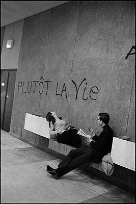Mai 68, Université de Nanterre, avril 1968