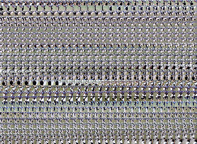 M+M, Happy Slapping 2, 2008, Lambda-Belichtung auf Endura auf Aluminium, Auflage 6 (+1 A.P.)