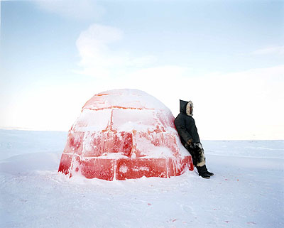 Lemonade igloo © Scarlett Hooft Graafland courtesy Michael Hoppen Contemporary