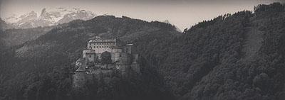 SILKE LAUFFSFestung Hohenwerfen, Salzachtal, Österreich, Frühling 2007Edition 1/5Fine Art Printverso signiert, datiert und nummeriert160 x 60 cm (mit Rahmen: 180 x 80 cm)