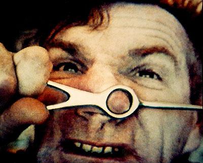 Jozef Robakowski, My Video Masochisms, video still, 1990, Courtesy: ZAK I BRANICKA