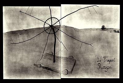 Laurent MilletLa chasse # 12. 2003. Toned gelatin silver print. 50x60 cm. Ed of 20