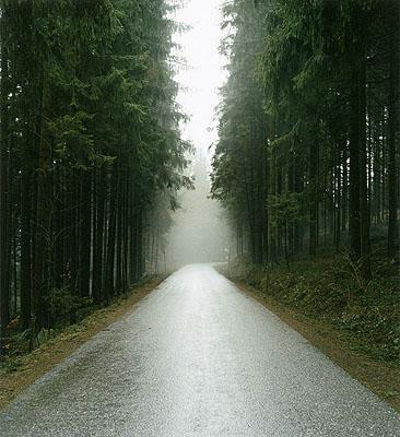 Straße,  Helfenberg-Spanfeld, 2007