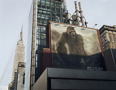 'King Kong' from the series ' Picture Worlds - The Manhattan Project 2001-2007' C-Print Diasec, 2006, 150 x 103 cm