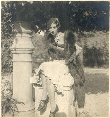 ©Jacques-Henri LARTIGUE, Renée Perle, 1930-32