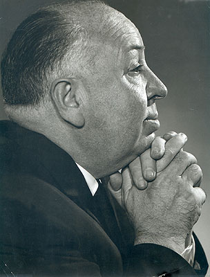 ©Yousuf Karsh, Alfred Hitchcock, 1960