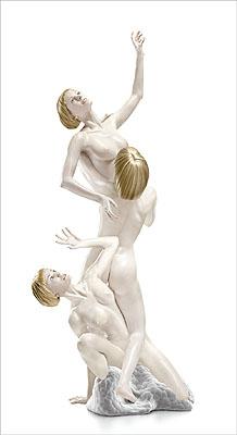 Michael Najjar - bionic angel, figura serpentina