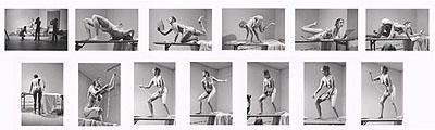 Carolee Schneemann, Interior Scroll (suite of 13 silver gelatin prints), 1975