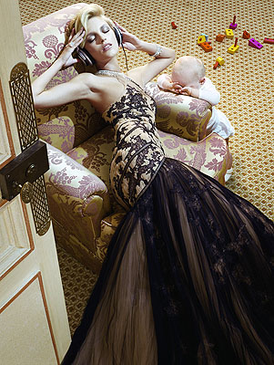 Miles Aldridge, The Vagaries of Fashion, Doll Face, courtesy of Hamiltons Gallery