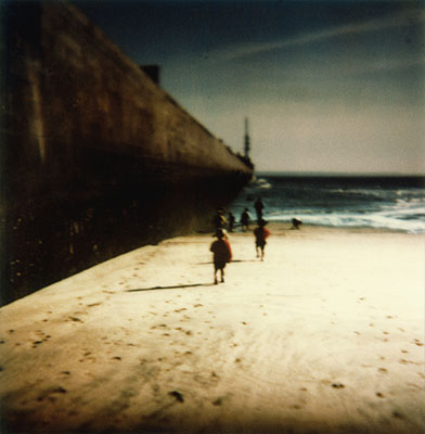 n°12, 1996 from the series Où commence le ciel ?Enlarged Polaroid SX 70s78x76 cmEdition of 5@ Corinne Mercadier