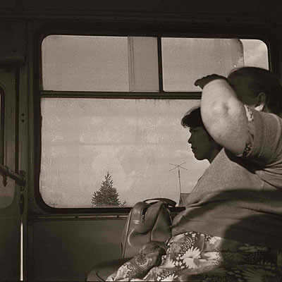 Dirty Window 1981 Near Moscow © Boris Savelev courtesy Michael Hoppen GalleryBoris SavelevKallitype on silver gelatin print, edition of three