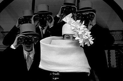 1958, JDM Givenchy 2/30 Platinum Print, 60 x 50 cm© Frank Horvat