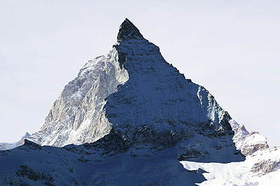 © Jacques PuginLe Cervin, Suisse. De la série La montagne s'ombre, 2005