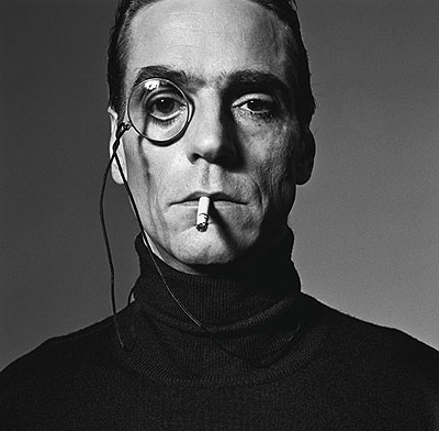 Jeremy Irons Interview, 1990Silver Gelatin Print50x50 cmEdition of 20