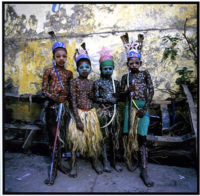 © Phyllis GalemboLes Indians, Jacmel, Haiti