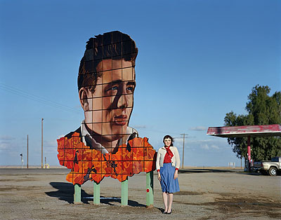James Dean's Last Stop, Lost Hills, CA © Ofer Wolberger courtesy Michael Hoppen ContemporaryC-type print