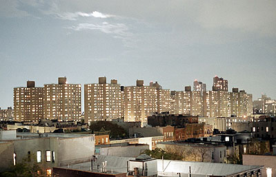 The Megapolis Tour, New York #6, East Harlem Projects, ©Peer KuglerC-Print, 80x120 cm, Edition 7