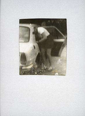 Miroslav TichýOhne TitelSchwarz-Weiß-Photographie14,2 x 12 cmCourtesy Galerie Elisabeth & Klaus Thoman, Innsbruck