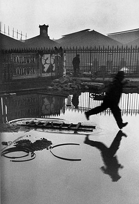Henri Cartier-BressonPont de l'Europe, Paris 1932Silbergelatine-Abzug© Henri Cartier-Bresson / Magnum Photos