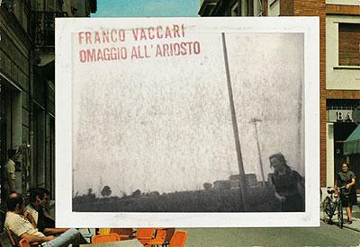 Franco Vaccari, Esposizione in tempo reale n° 8, Omaggio all'Ariosto, 1974© 2009. Centre national de l'audiovisuel (CNA) - Département Photographie, Ministère de la Culture, Luxembourg