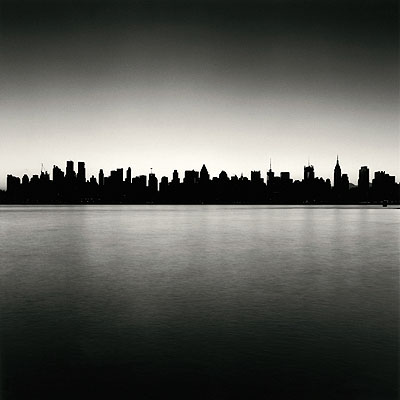 © Michael Kenna. Manhattan Skyline, Study 1, New York, USA, 2006.
