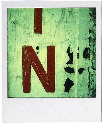 Walker Evans, Untitled 1974Unique Polaroid© Walker Evans Archive, Metropolitan Museum of Art