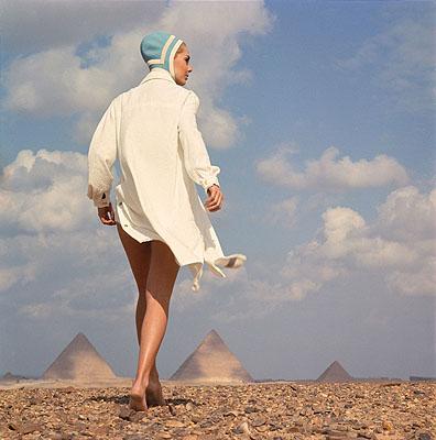 Den ganzen Tag am StrandGizeh/Ägypten 1966In: Brigitte, Heft 8/1966© F.C. Gundlach