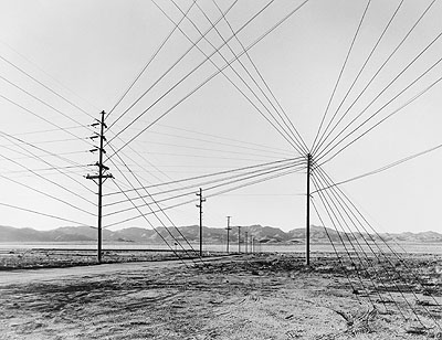 Taiyo Onorato / Nico KrebsWires, 2008from: The Great UnrealGelatin-silver print, 30 x 42 cmCourtesy of the artists© Taiyo Onorato / Nico Krebs