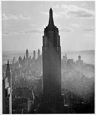 Andreas Feininger Empire State Building, New York, 1940 Photo by Andreas Feininger © AndreasFeiningerArchive.com