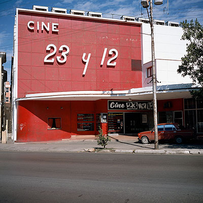 Cine Ticket Window, 2006 © Charles Johnstone