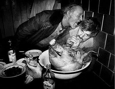 Slaughter. 1982. © Rimaldas Viksratis. Courtesy: White Space Gallery Ltd
