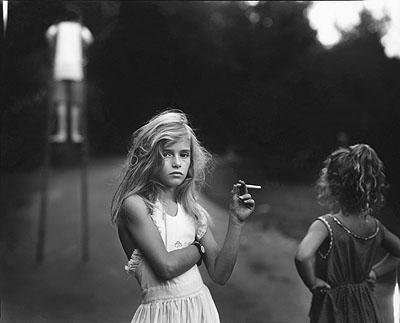 Sally Mann, Candy Cigarette, from the series